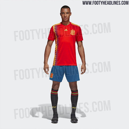 España camiseta Rusia 2018