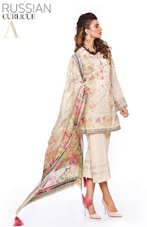 Sapphire's unstitched lawn collection -Eid edition