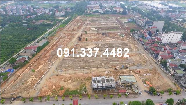 Dự án đất nền liền kề Happy Land 1/5 Đông Anh shophouse