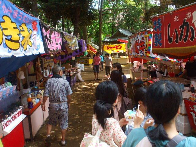 Summer Festival at Kishimojin Temple, Toshima-ku, Tokyo
