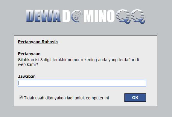 DewadominoQQ: Situs Judi Online Poker DominoQQ 99 BandarQ Terpercaya