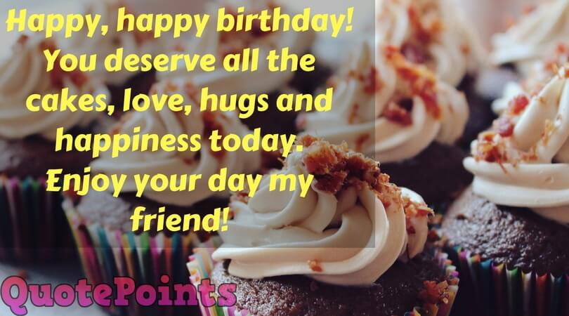 birthday wishes for a male friend from a female