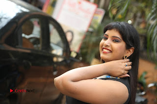 Actress Model Poorni Stills in Floral Long Dress at Silk India Expo Launch  0037.JPG