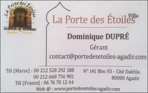 Hôtel La Porte des Etoiles à Agadir
