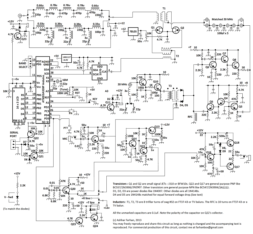 Diycrap Building Farhans Minima Transceiver Part 1