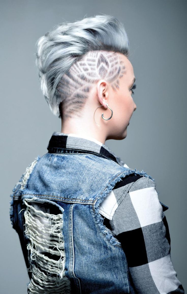 Brilliant shaved hair patterns very much