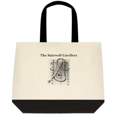 Stairwell Carollers Canvas Tote