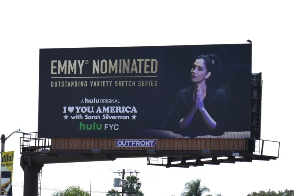 I Love You America Emmy nominated 2018 billboard