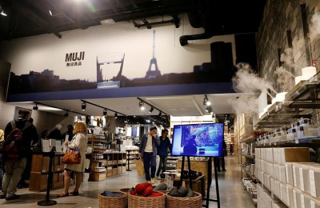Image Attribute: View inside a japanese furniture Muji store in Paris, France, June 13, 2016. REUTERS/Jacky Naegelen
