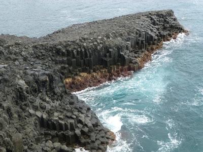 falaises de Jusanggeolli Ile de Jeju Corée du sud