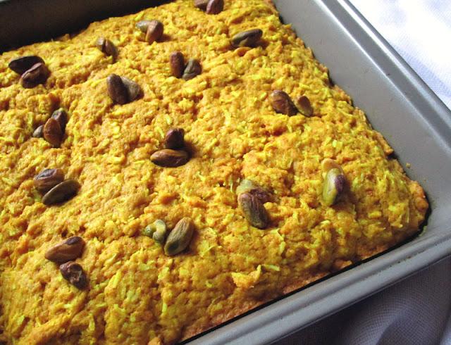 Coconut Turmeric Spelt Cake