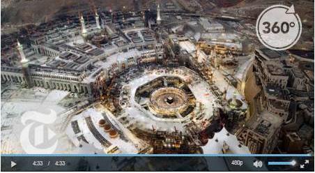 Begini Penampakan Kota Mekkah Dan Madinah Dalam Kamera Dengan Sudut 360 Derajat (Video)