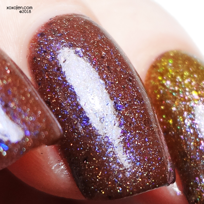 xoxoJen's swatch of Fancy Gloss Glowing Waves