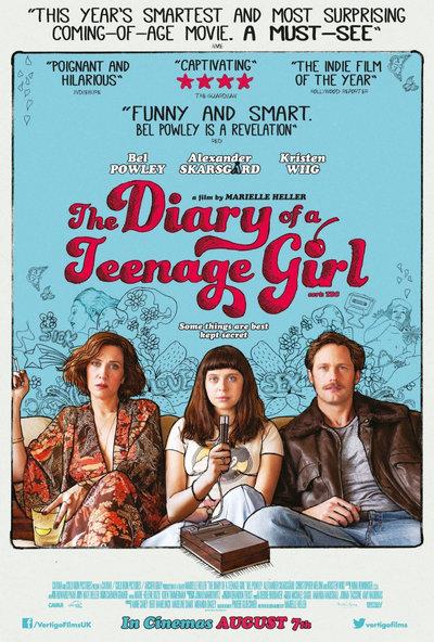 THE DIARY OF A TEENAGE GIRL (2015) บันทึกรักวัยโส [SOUNDTRACK บรรยายไทย]