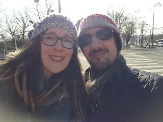 Winter sunshine in Vienna