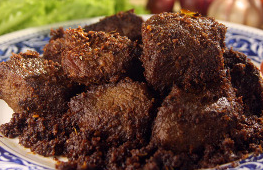 resep cara memasak rendang paru dan pakis
