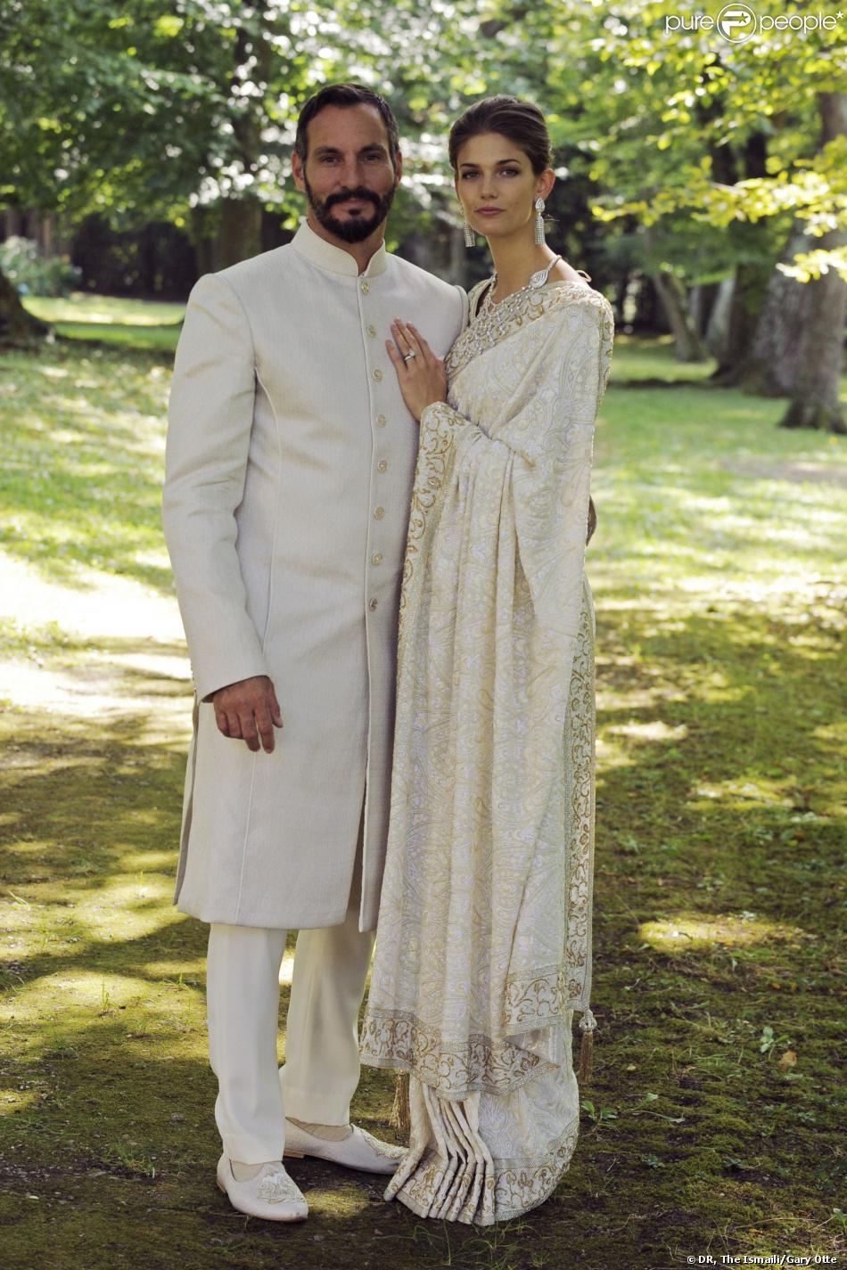 Mawlana Hazar Imam's eldest son, Prince Rahim and Ms Kendra Salwa Spears