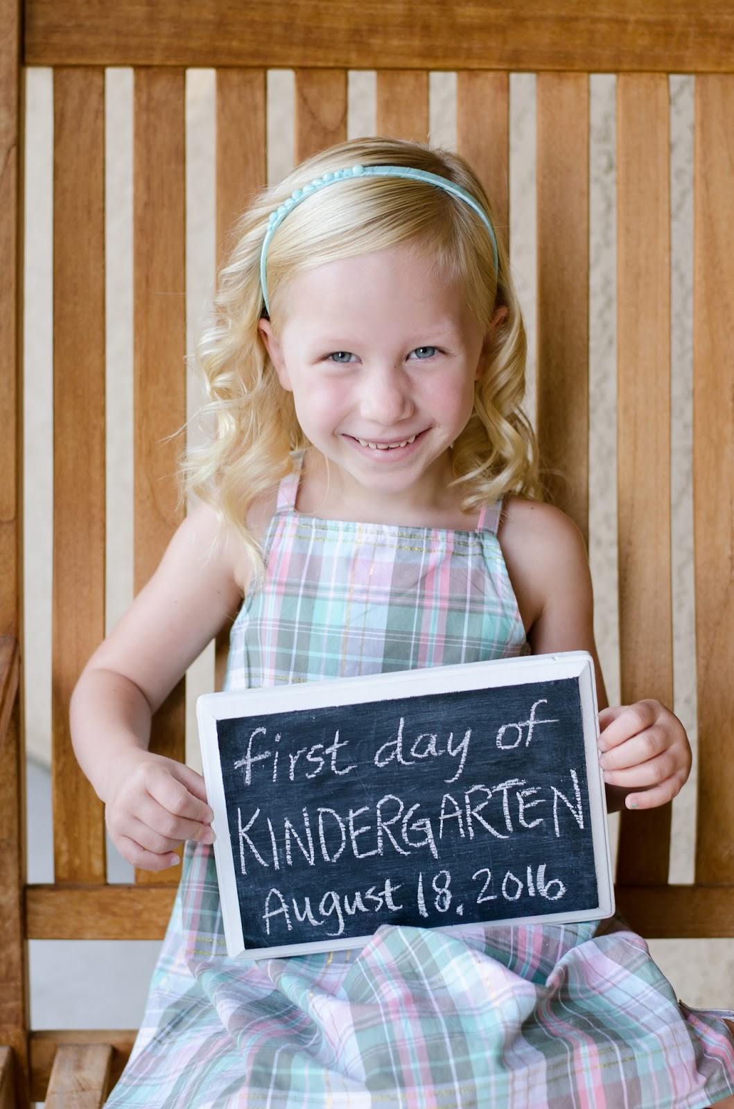 As Time Goes By First Day Of Kindergarten