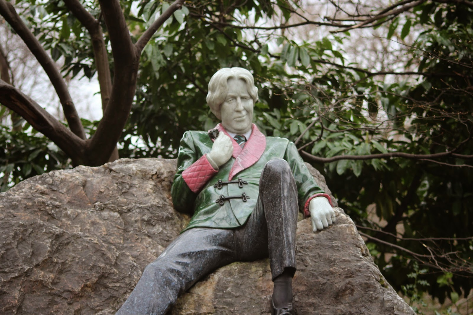dublin, travel, sculpture, art, oscar wilde, literatrure