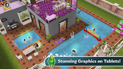 The Sims FreePlay v5.26.1 MOD APK+DATA Terbaru