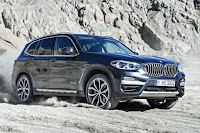 BMW X3 xDrive30d xLine (2018) Front Side