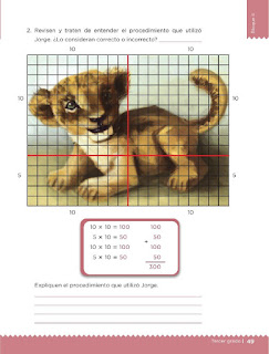 Apoyo Primaria Desafíos matemáticos 3ro. Grado Bloque II Lección 22 Diferentes arreglos