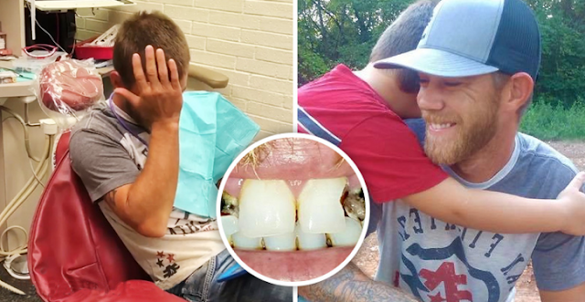 This Dentist Is An Angel: He Remakes The Teething Of A Father Who Was Ashamed Of His Teeth