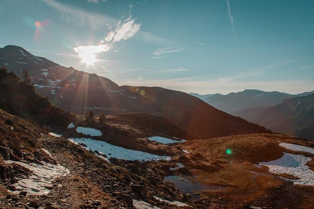 Sonnenaufgangswanderung auf den Saalkogel  Saalbach-Hinterglemm 02