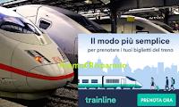 Logo Trainline: Tutte le offerte per i biglietti del treno in un unico portale