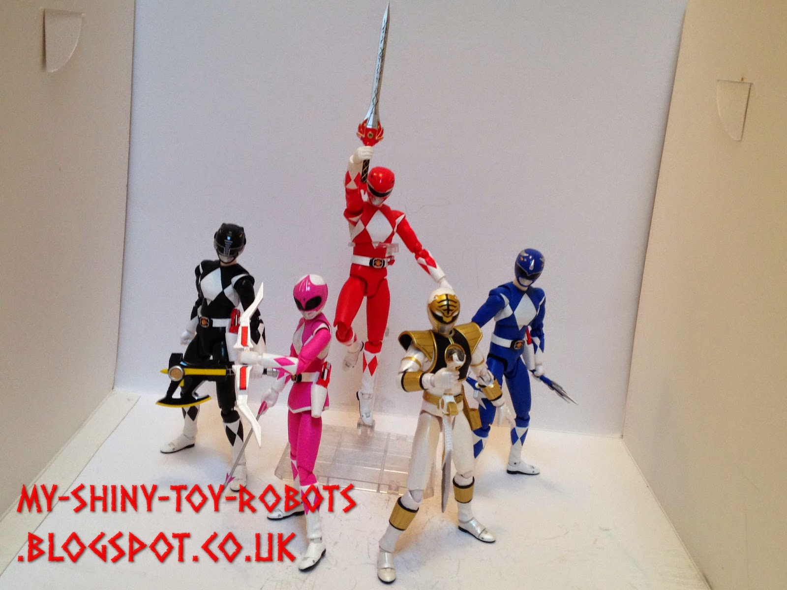 POWER RANGERS! (seasons 2-3)