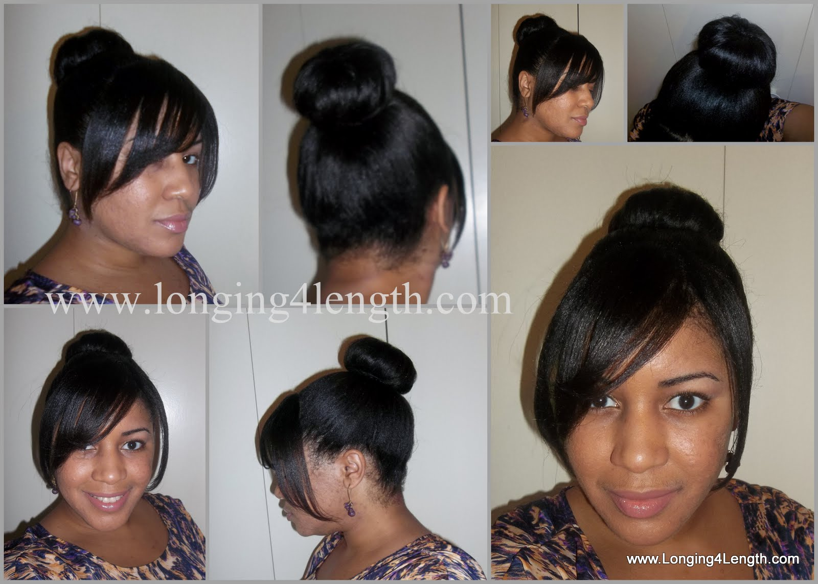 hotd: evelyn lozada inspired bun - longing 4 length