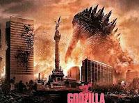 Poster Godzilla 2014 en México