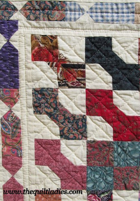Husband's Office Quilt A Bow Tie Quilt