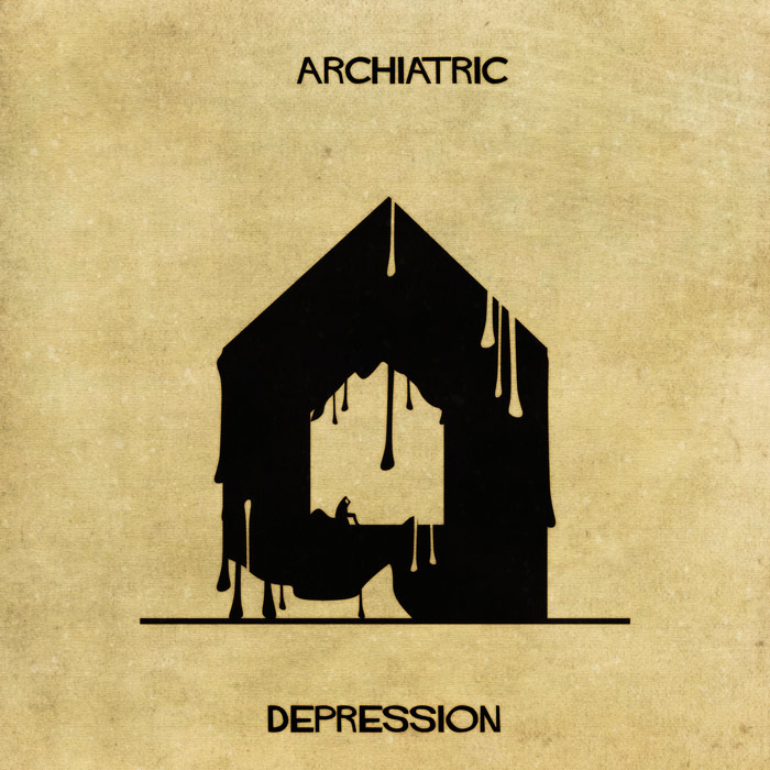 16 Mental Disorders Illustrated Through Architecture - Depression