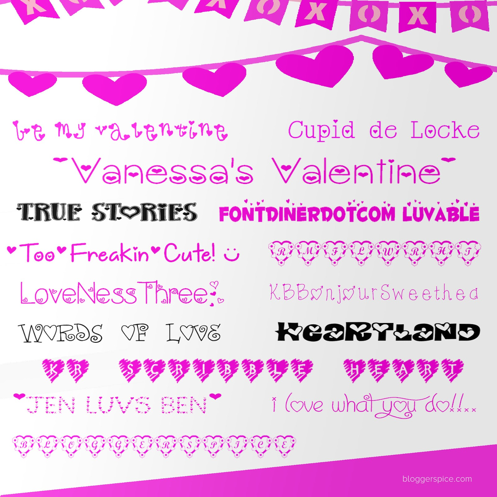 download valentine's day font for your creative project