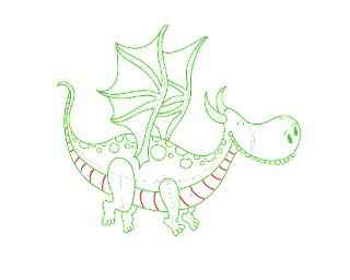 HOW TO DRAW A Dragon V-2