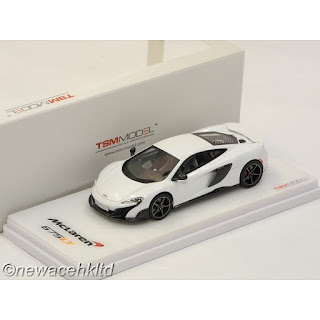 MCLAREN 675LT SILICA WHITE RHD TSM MODEL 1/43 #TSM154369