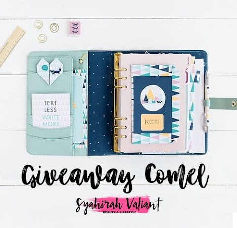 Giveaway Comel By Syahirah Valiant
