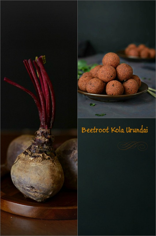 Beetroot Kola Urundai - Chettinadu Special