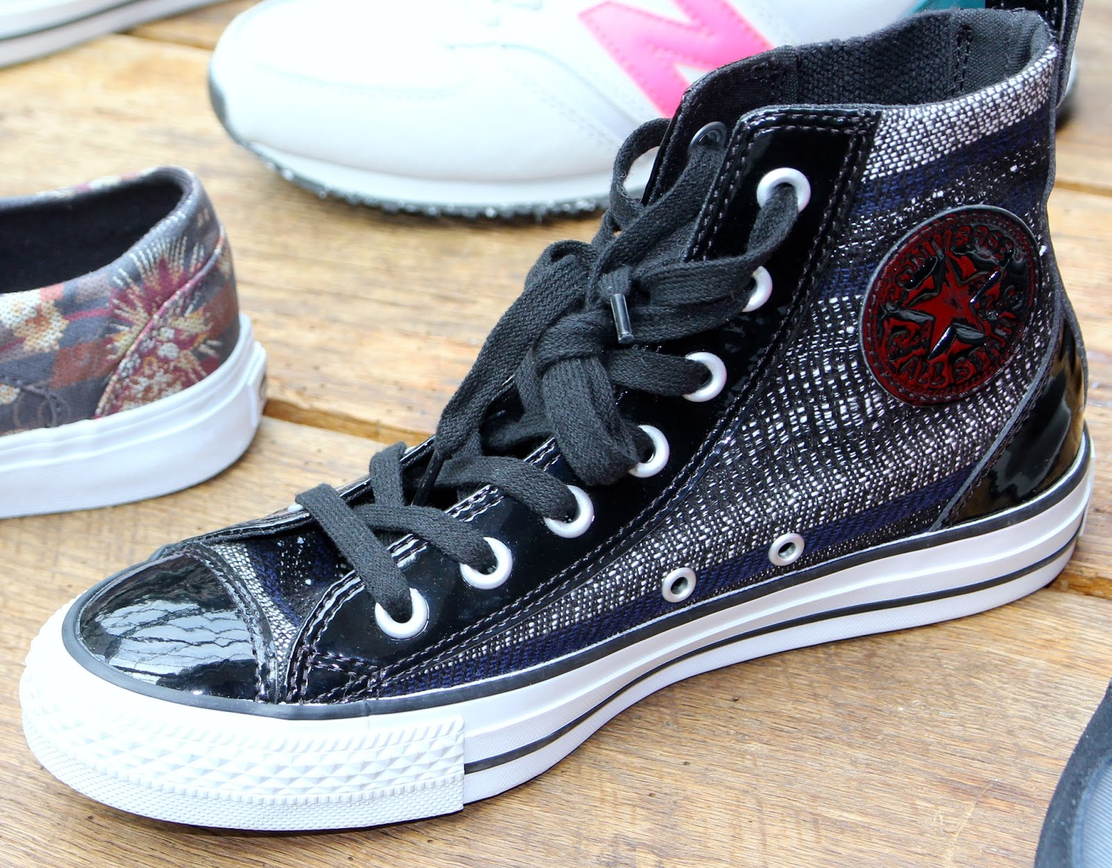 2ee986314c55 Converse Chuck Taylor Al Star High Top  69.95 DSW price- kicks...get mixed  textured uppers---
