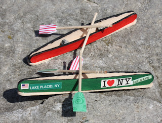 How to make a Popsicle Stick Canoe Craft