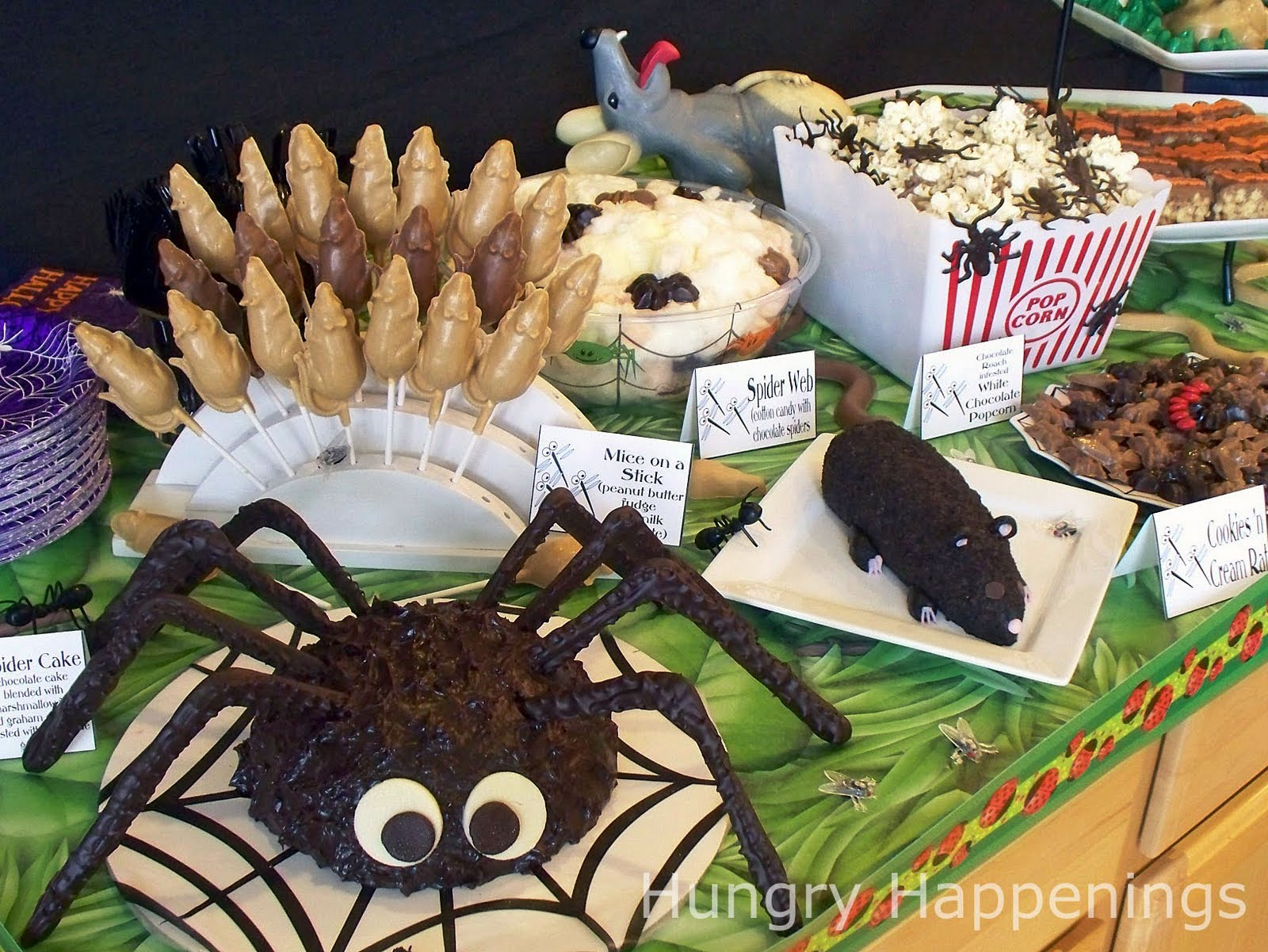 Carnival Halloween Party Ideas.Carnival Of The Creepy Crawlers Halloween Party Theme