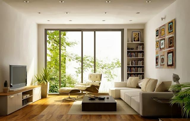 Phòng khách căn hộ Eco Lake View