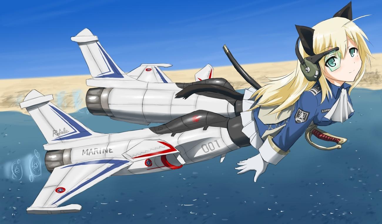 Futuristic Anime Girl Wallpapers