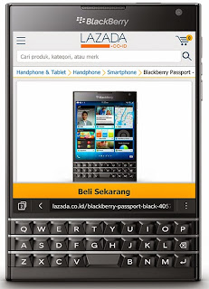 BLACKBERRY PASSPORT - by Lazada