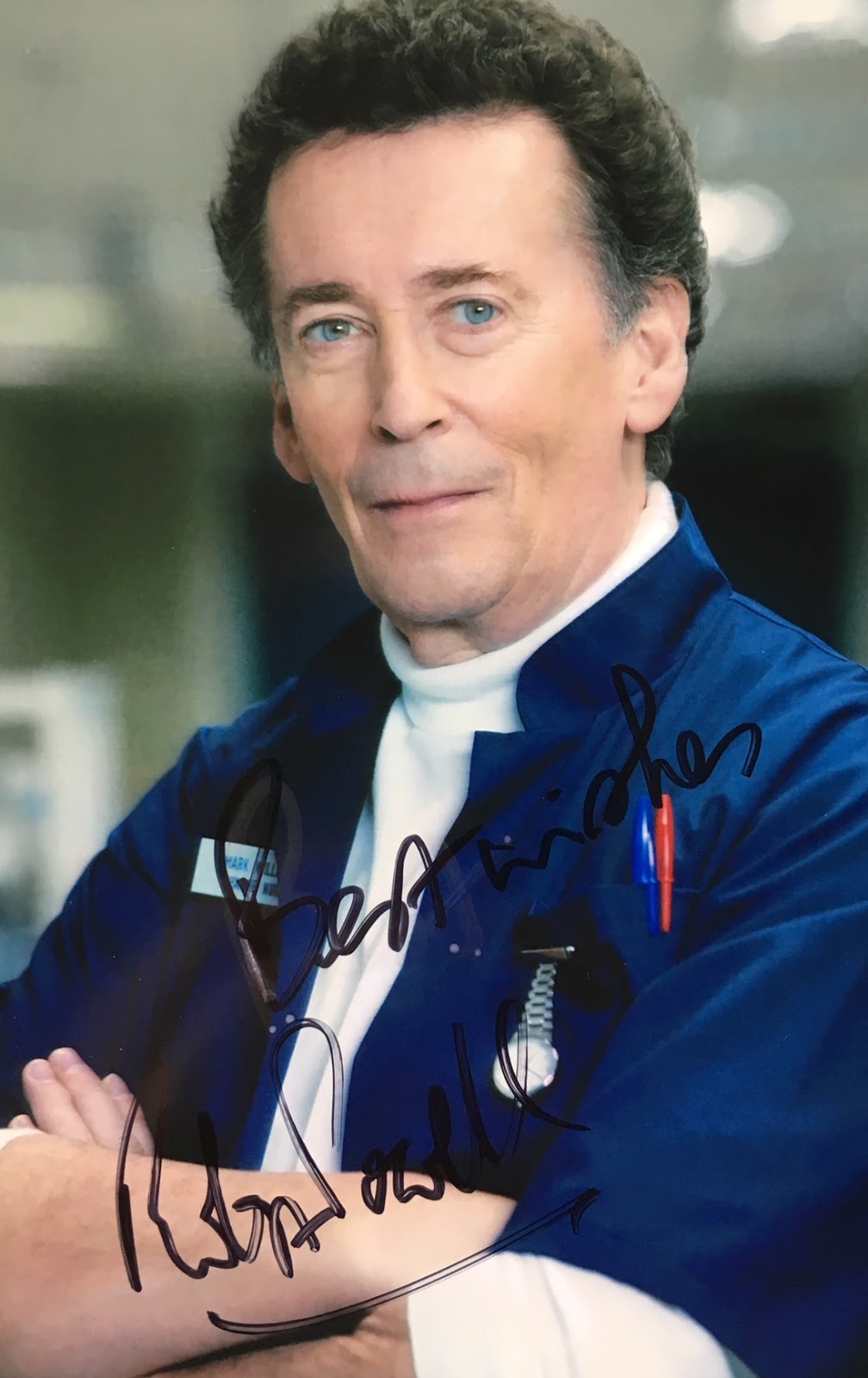 Celebrity Signings: Robert Powell (The Detectives, Jesus of