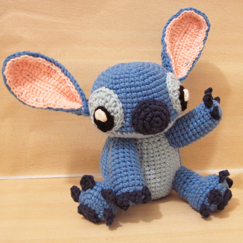Amigurumi Stitch! (from Lilo and Stitch) - Free Pattern
