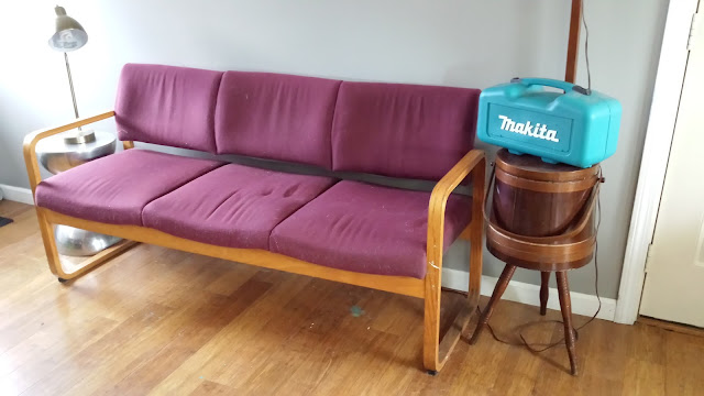 upholstering a couch sofa