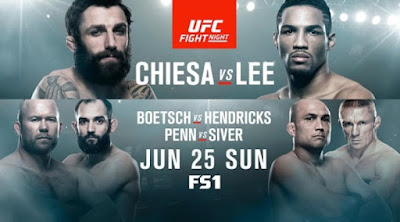 UFC Fight Night 112 Chiesa vs Lee 25th June 2017 HDTV 480p 700Mb