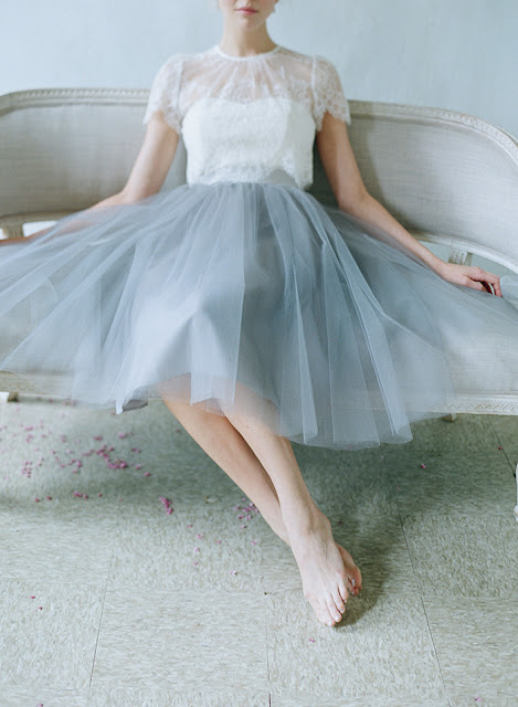 lace tulle wedding gown inspiration